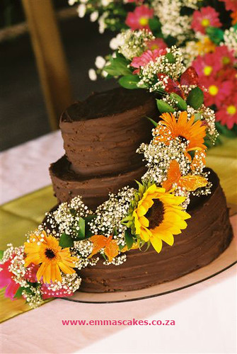 chocolate icing for wedding cake recipe chocolate wedding cake a simple chocolate wedding cake 12719
