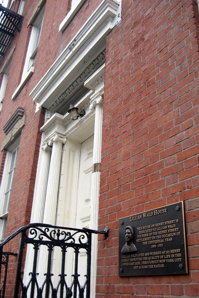 Nyc Les Henry Street Settlement Lillian Wald House