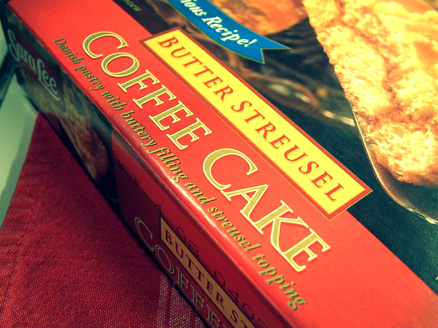 Sarah Lee Butter Streusel Coffee Cake | Flickr - Photo Sharing!