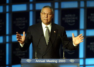 Colin Powell - World Economic Forum Annual Meeting Davos 2003 | by World Economic Forum