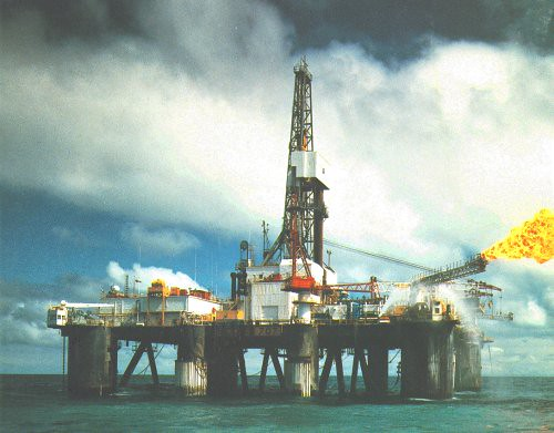 SEDCO 707 | The first Oil rig I worked on - called the ...