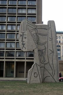 NYC - Greenwich Village: Picasso's Bust of Sylvette | by wallyg