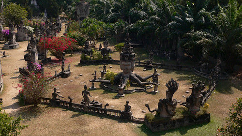 The Buddha Park, Vientiane, Lao PDR | by sarah@eleven47