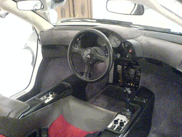 Cockpit Mclaren F1 Baujahr 1997 Mittelsitz 6