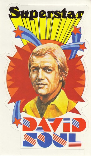 David Soul - Superstar - Starsky and Hutch - Sticker | by JasonLiebig