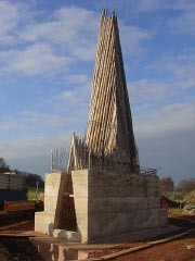 Bruder Klaus Field Chapel Zumthor Construction Of The