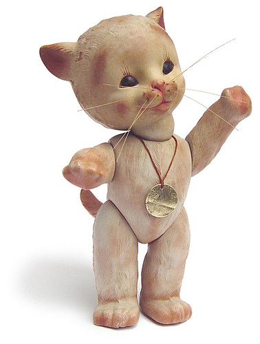 Anili Kitty Doll, 1940s | by galessa's plastics