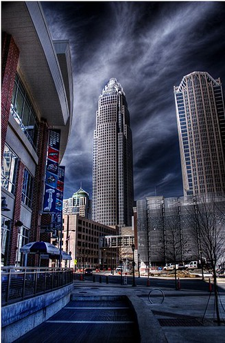 Uptown Charlotte An Hdr Photo Of Uptown Charlotte Nc