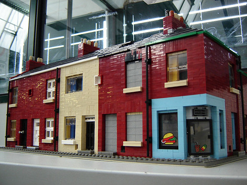 Lego at worldskills uk 2006 terraced houses my model of for What is terrace house