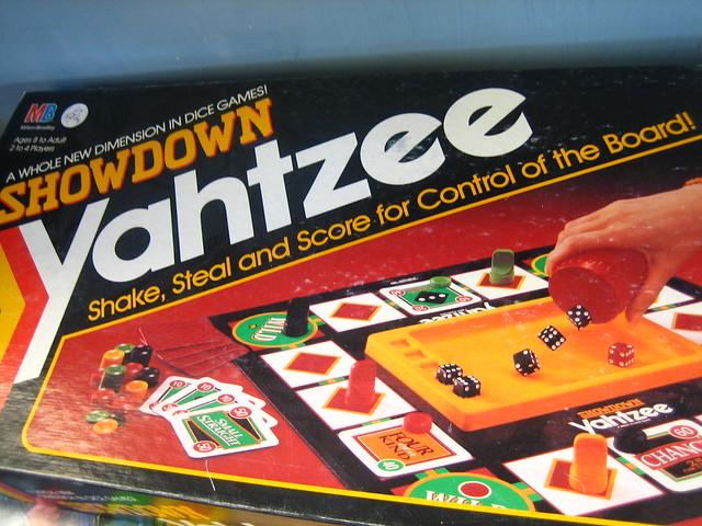 how to play yahtzee flash game