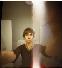 matchbox pinhole self-portrait with migraine and light leak | by lady_xoc