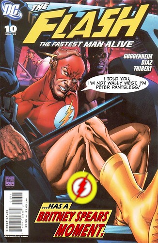The Flash Has a Britney Spears Moment | by roadkillbuddha