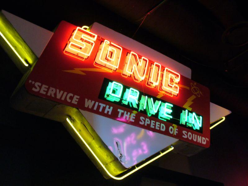 Sonic Neon Sign