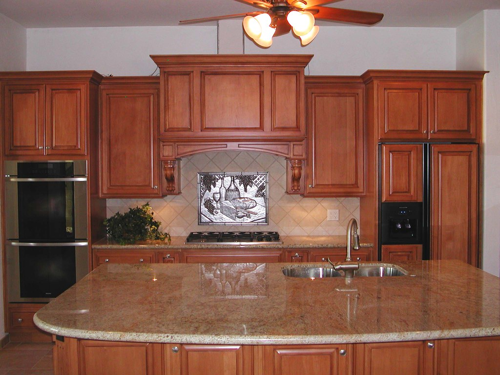 White Galley Kitchen White Cabinet Marble Counter Subtile Back Spash