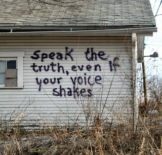 Speak the truth | by Dania Hurley