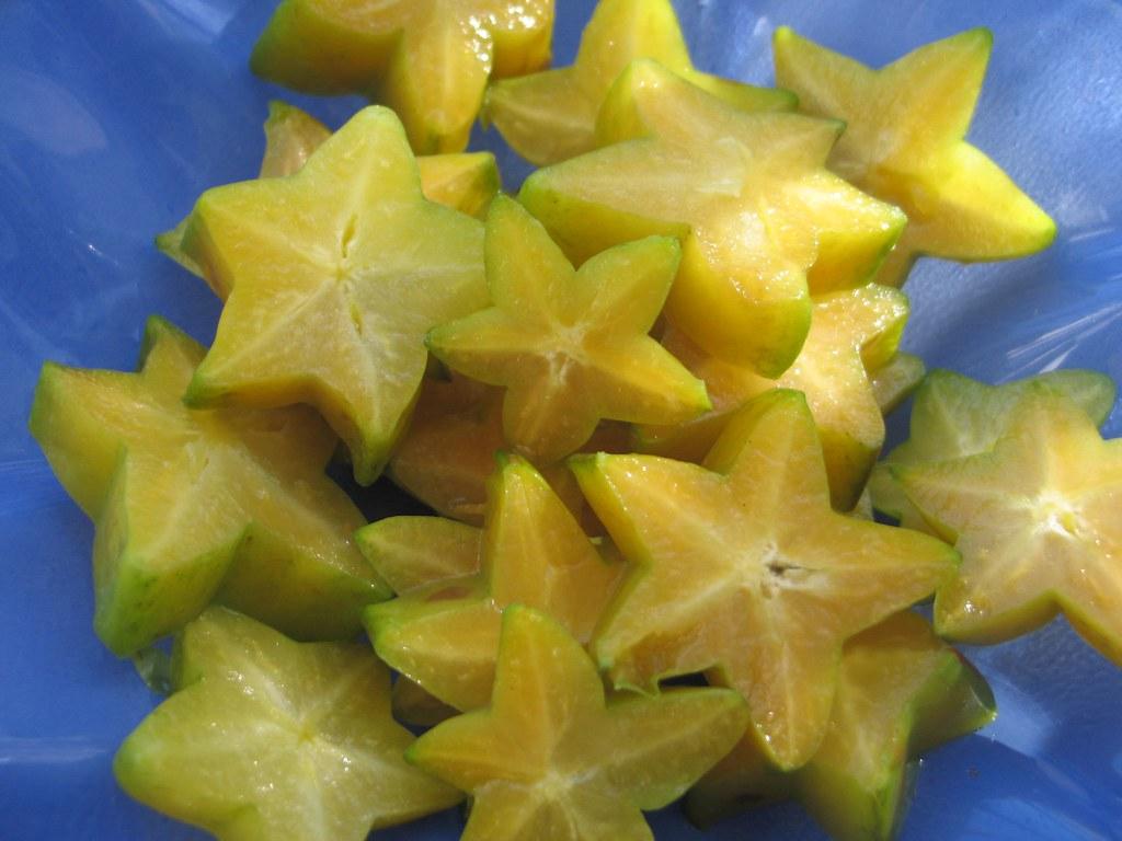 Star Fruit - Carambola | Cristina's Cards - Brazil | Flickr