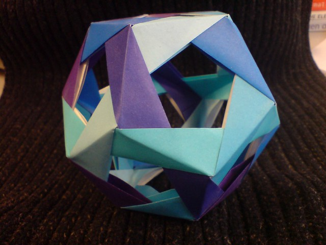 Origami Dodecahedron 30 Modules From Modular Origami Pol