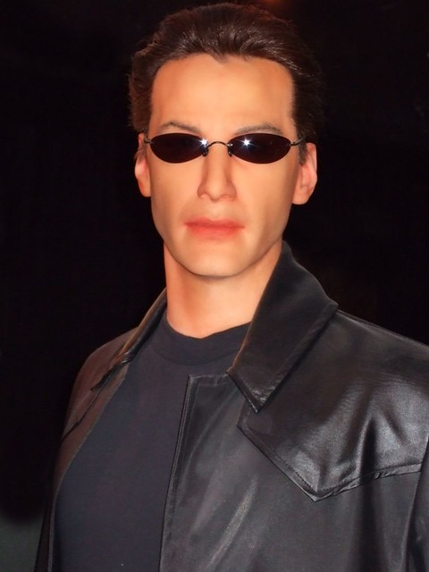Keanu Reeves as Neo at the SF Wax Museum (1)