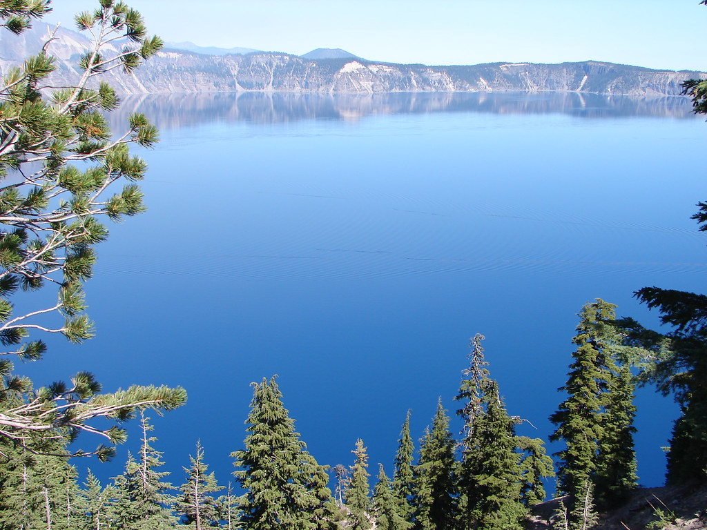 Crater Lake - Oregon   Crater Lake was formed after the ...