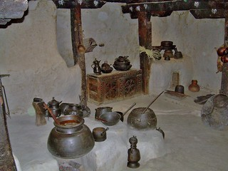 Kitchen of the Baltit Fort, Pakistan - June 2006 | by SaffyH