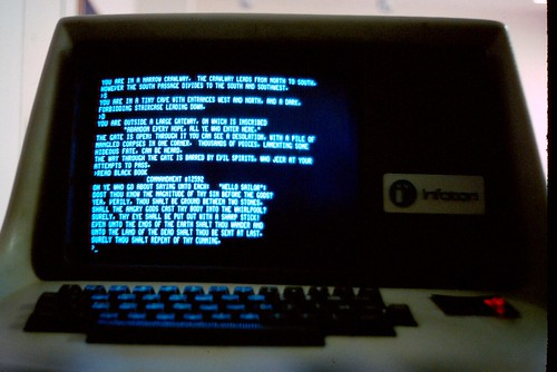Screenshot of Zork in 1980 | by the-tml