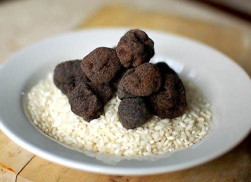 Black Truffles in White | by ulterior epicure