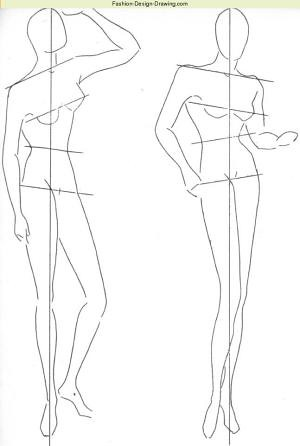 Fashion Figure Blocking In Learn Fashion Design Drawing An Flickr