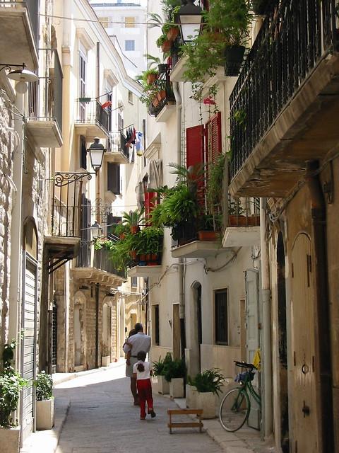 Puglia látnivalói - Bari óvárosa