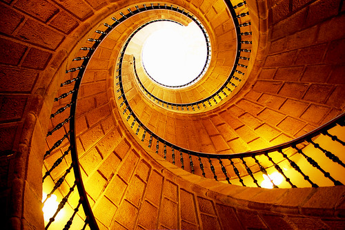 Follow the yellow brick...stairs | by dogonnit
