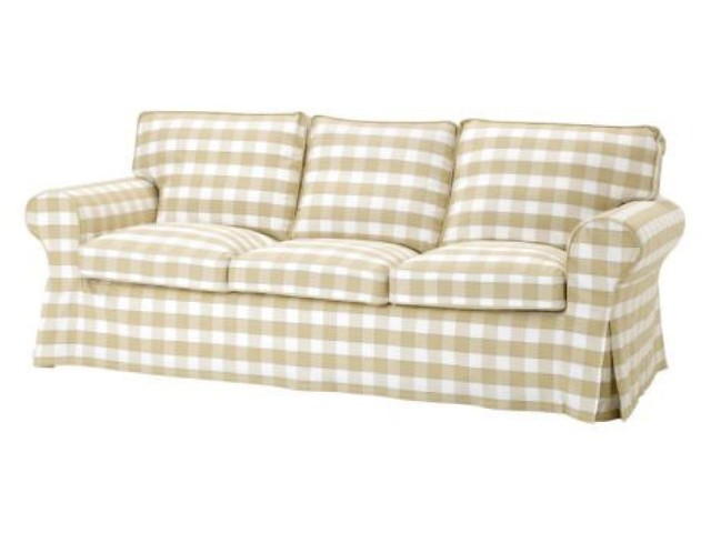Merveilleux ... IKEA EKTORP 3 SEAT Sofa Slipcover Floral BYVIK | By Randi_minners