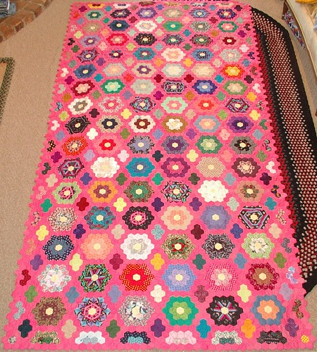 bubble gum pink quilt #1 | by sunshine's creations