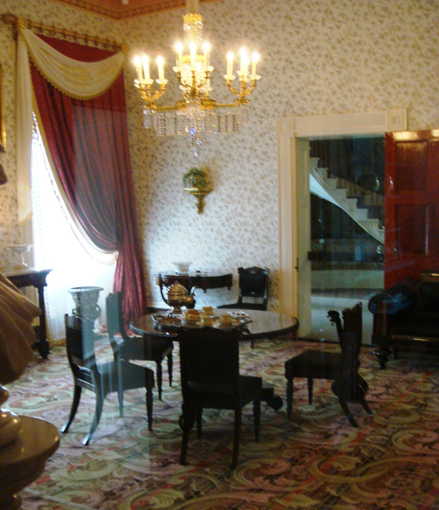 Parlor At The Hermitage Of The 16 Rooms In Andrew