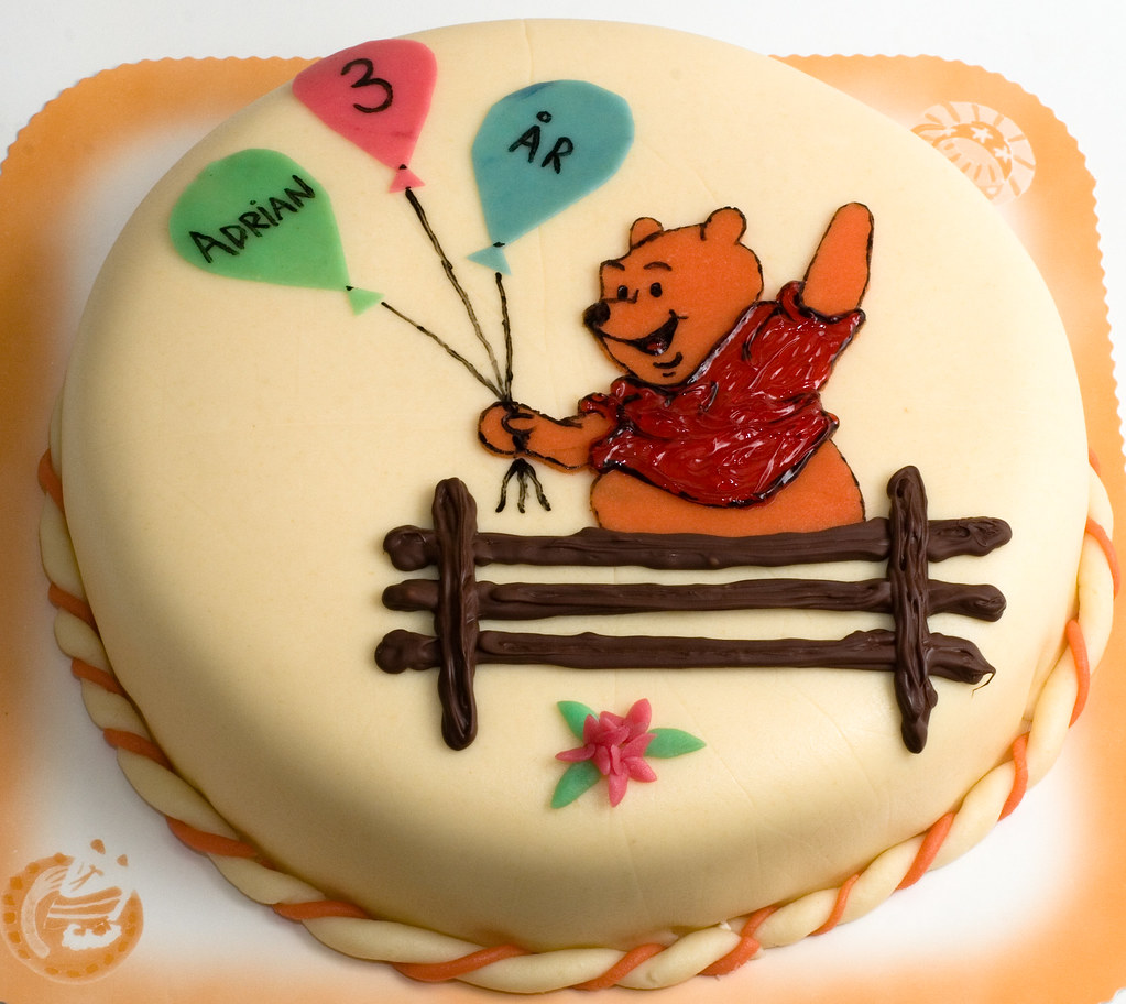 Pooh Birthday Cake Ideas