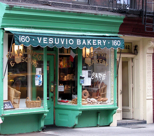 New York City:  Vesuvio Bakery | by Professor Bop