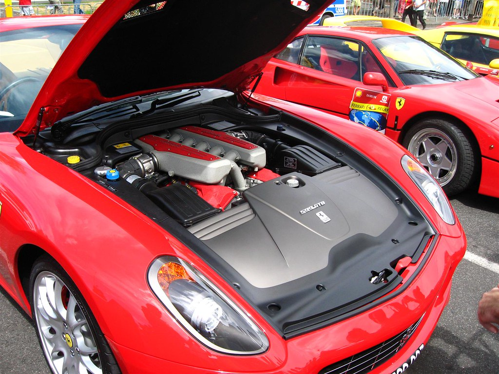 Ferrari 599 Gtb Fiorano Engine View Of The V12 Enzo Engi Flickr Formula 1 Diagram By 98octane