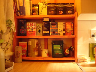 Kitchen Shelving Unit With Doors