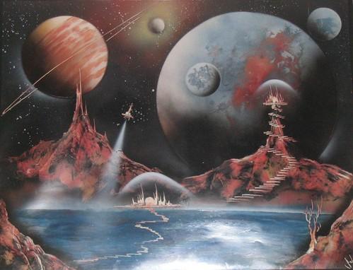 Spray Paint Universe Tutorial