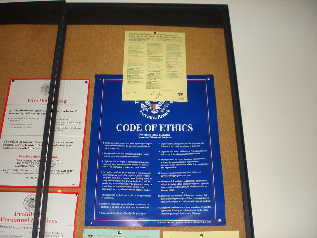 code of ethics a benefit for Section 1: values and principles of ethical conduct  values and principles of ethical conduct section 2: themes in research ethics: risk and benefit,.
