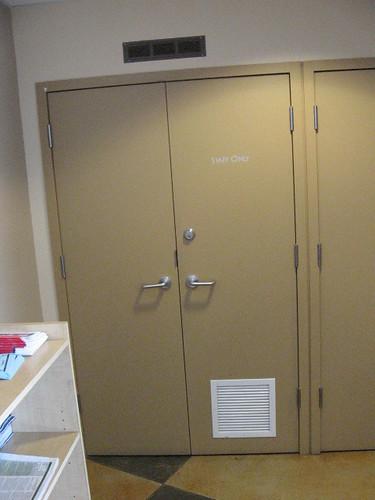 Server Room Ventilation : Door to server room note ventilation canadadry flickr