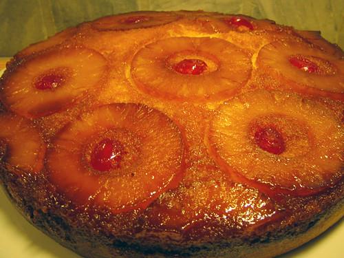 Pineapple Pan Cake