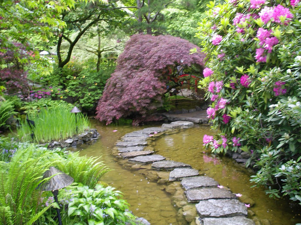 Japanese garden butchart gardens victoria b c for Definition de jardin