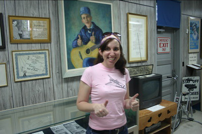 Thumbs Up Jimmie Rodgers Clifton Took A Picture Of Me