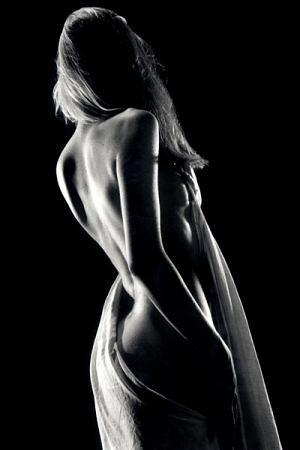 Fotos desnudas en blanco y negro