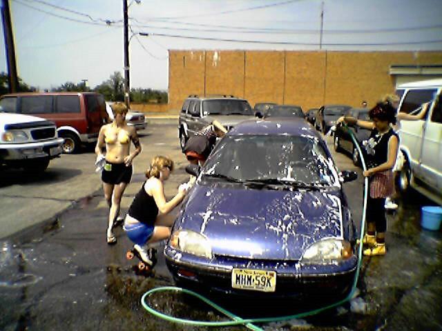 roller derby car wash in providence got my sister 39 s car o flickr. Black Bedroom Furniture Sets. Home Design Ideas
