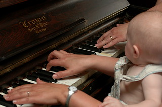 day 357: odin's first piano lesson. I. | by snowdeal