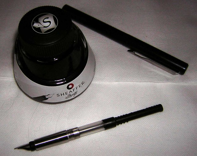 Parker Calligraphy Gift Set Pen Adapter And Ink Flickr