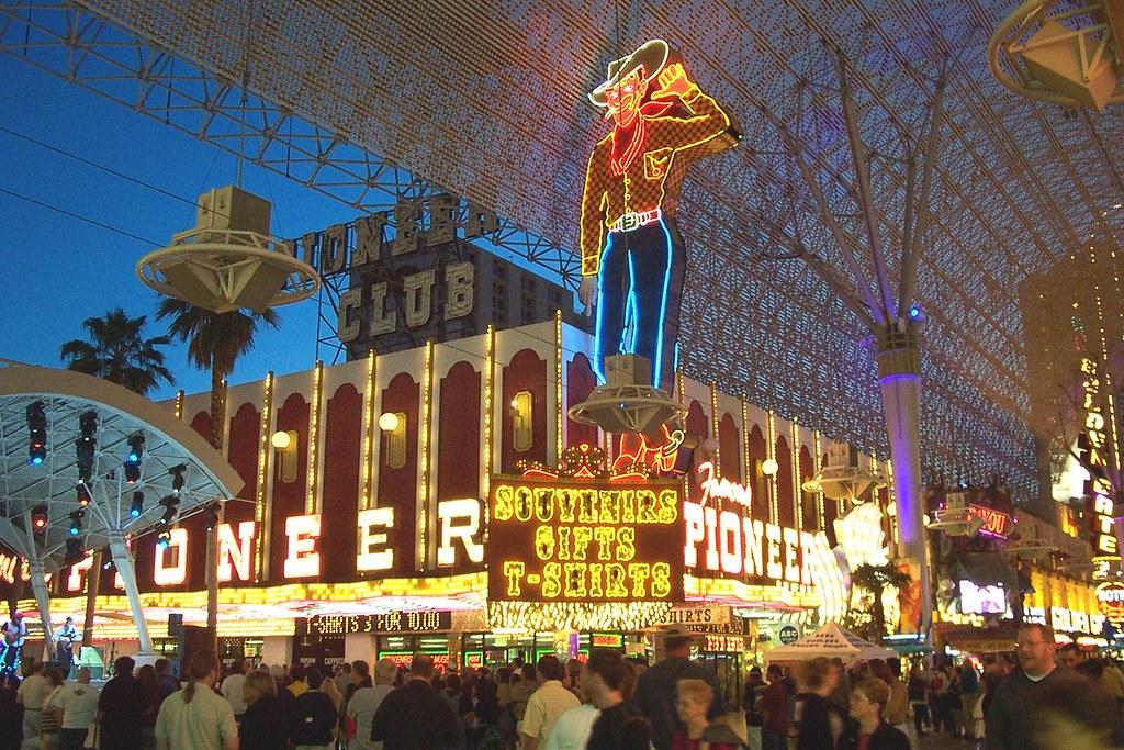 Vegas Vic Amp Pioneer Club Las Vegas Ex Pioneer Club