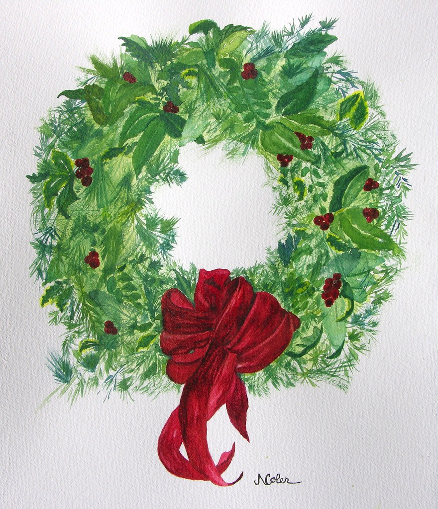 christmas wreath merry christmas to all on this christmas u2026 flickr