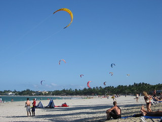 Kitesurfing at Cabarete Beach | by Ashley Strong