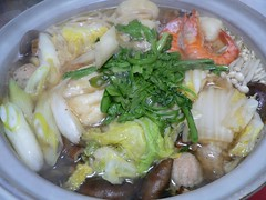 Nabe aux crevettes | by ghismo